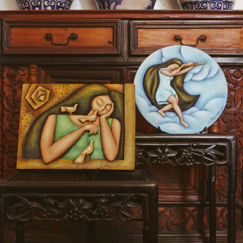 Bird Woman | Flute Layer by Martinez Art Haus