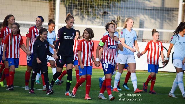Atlético de Madrid Femenino 1-1 Manchester City. UWCL
