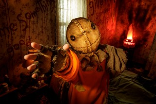 """Trick 'r Treat"" maze at Universal Studios Hollywood's ""Halloween Horror Nights"" 2018.."
