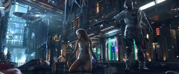 Cyberpunk 2077 - Massacre