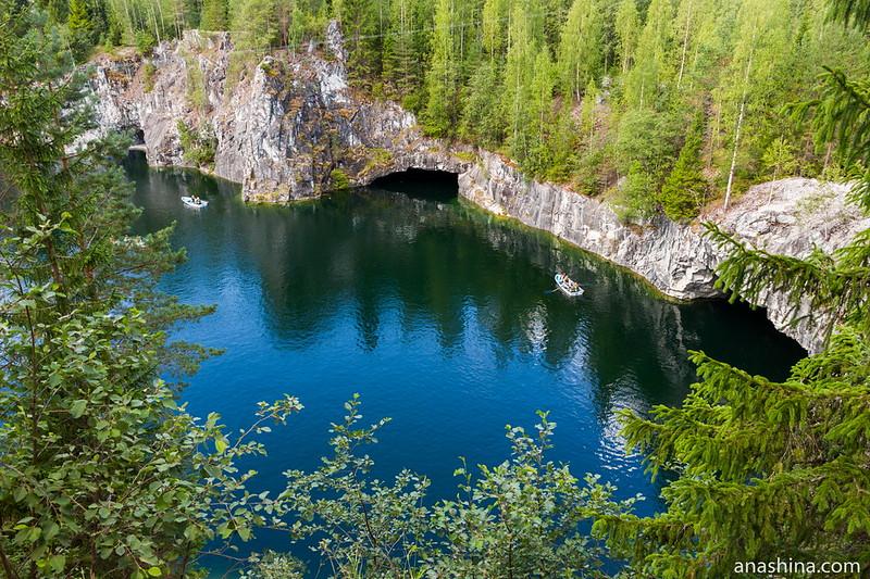 Большой мраморный карьер, Горный парк Рускеала