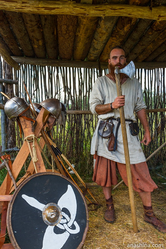 Секира, Музей живой истории эпохи викингов Бьоркагард, Берёзово