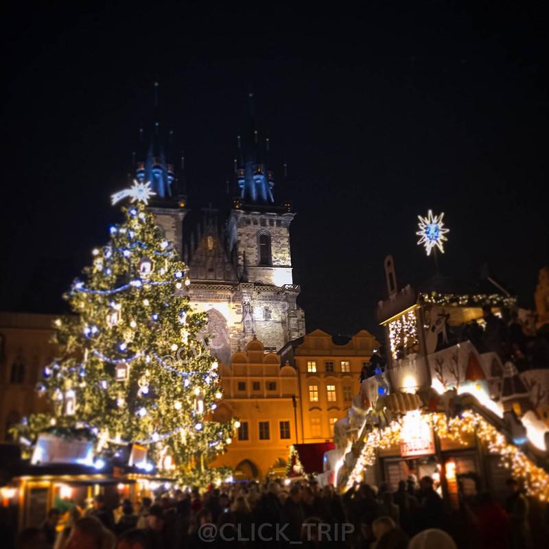 Mercadillos de Navidad en Praga | Plaza Ciudad Vieja | ClickTrip.ES