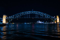 Harbour Bridge at night 4