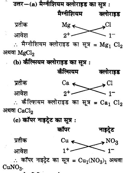 UP Board Solutions for Class 9 Science Chapter 3 Atoms and Molecules 51 4