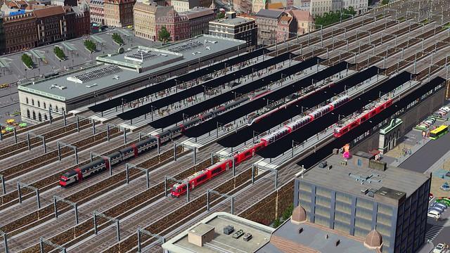 Města Skylines - Železniční koláž
