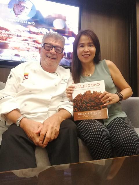 With Chef Nick Malgieri