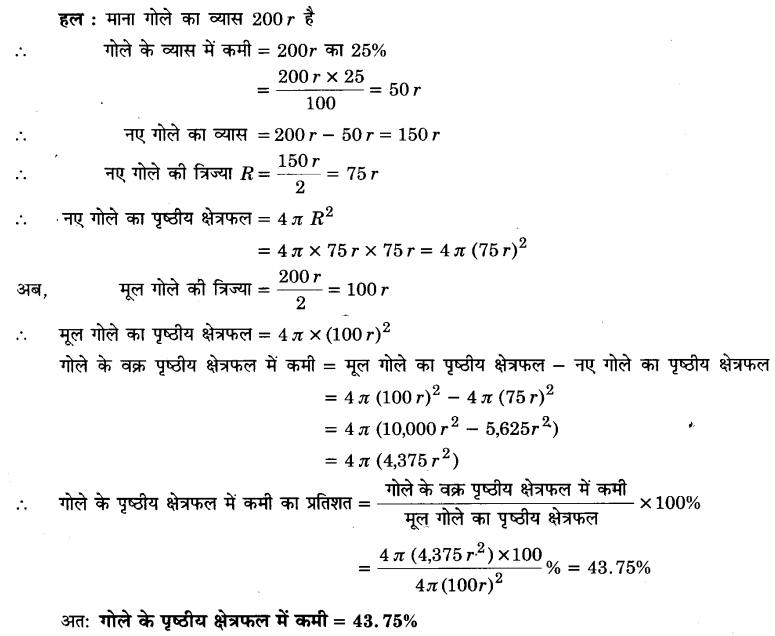 UP Board Solutions for Class 9 Maths Chapter 13 Surface Areas and Volumes 13.9 3