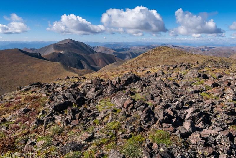 San Luis Peak from Stewart Peak