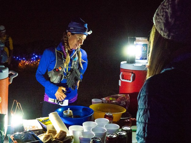 2018 Wasatch Front 100 Ultra Endurance Run - Scott's Pass aid station.