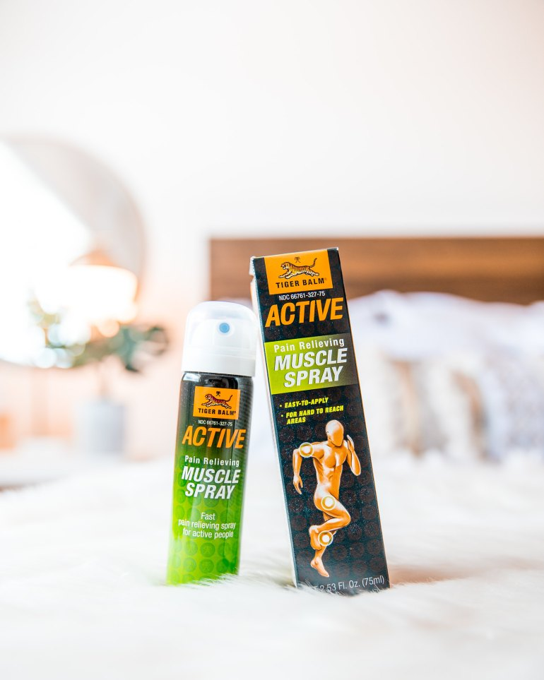 BabbleBoxx Tiger Balm Active Muscle Spray