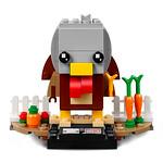 LEGO BrickHeadz 40273 Thanksgiving Turkey et 40274 Mr. & Mrs. Claus