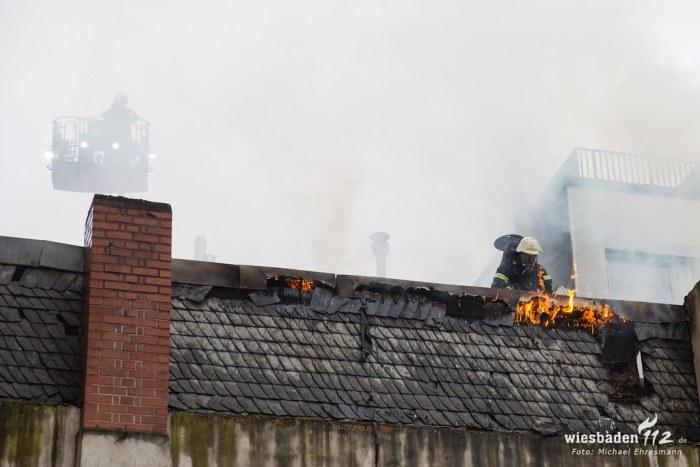 Gebäudebrand Bahnhofstraße 23.09.18