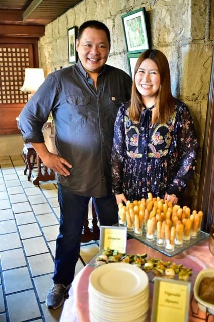 La Huerta Estates' Anton Lorenzo and What's Cookin Kitchenette's Diana Ang-Uy