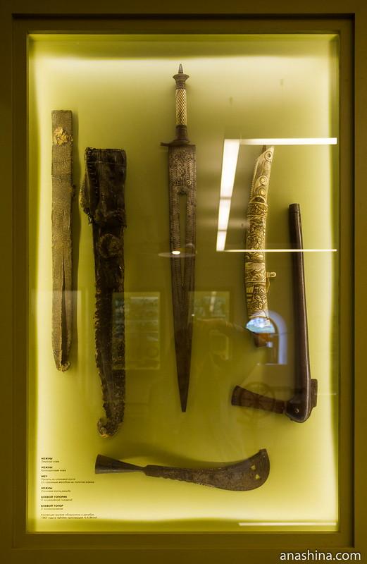 Коллекция старинного оружия, крепость Корела в Приозерске