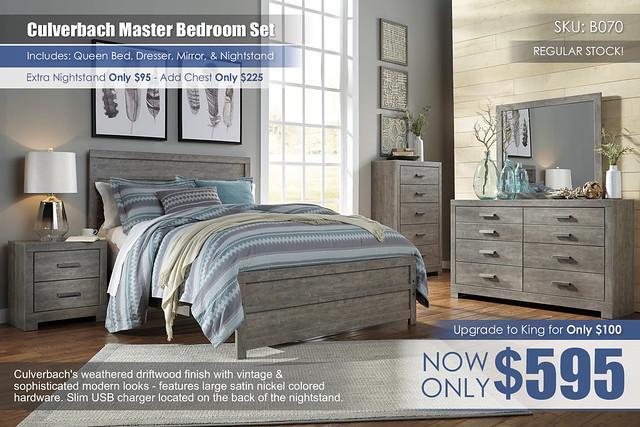 Culverbach Master Bedroom Set B070_RS