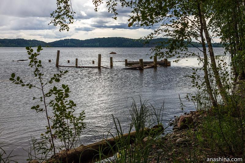 Старый причал, Ладожское озеро