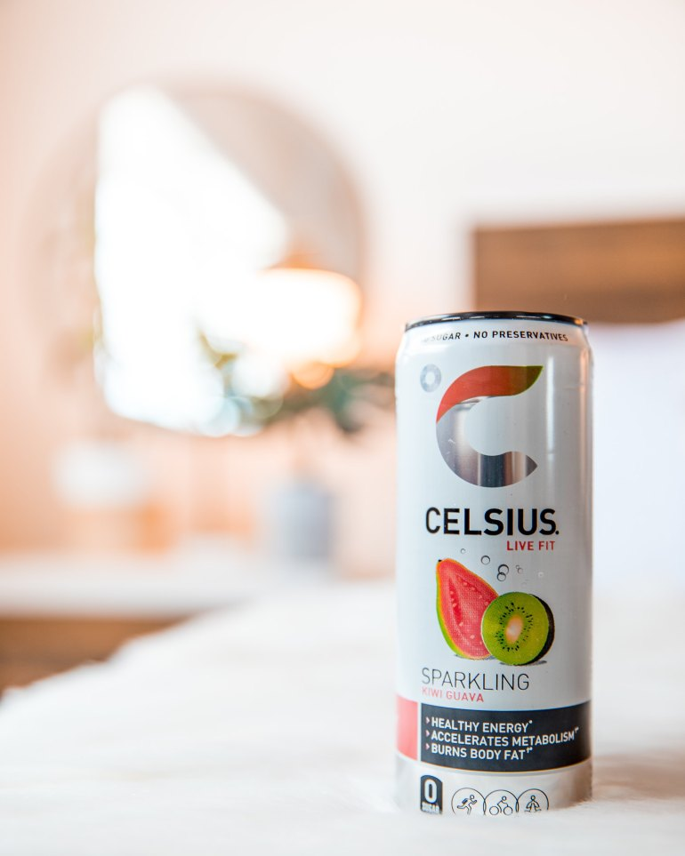 BabbleBoxx CELSIUS Original Line Sparkling Kiwi Guava