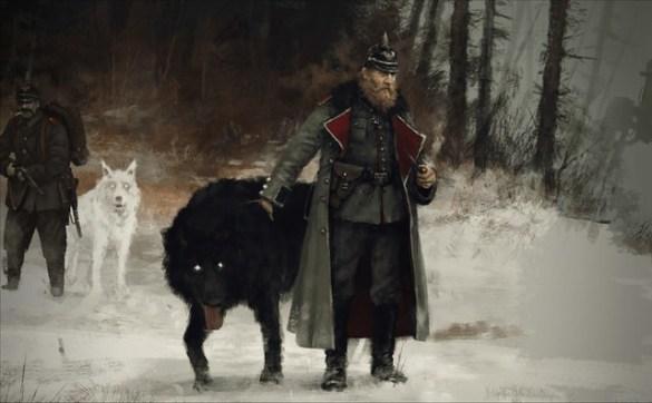 Scythe - Black Wolf