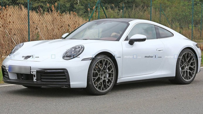 porsche-911-white-spy-shots