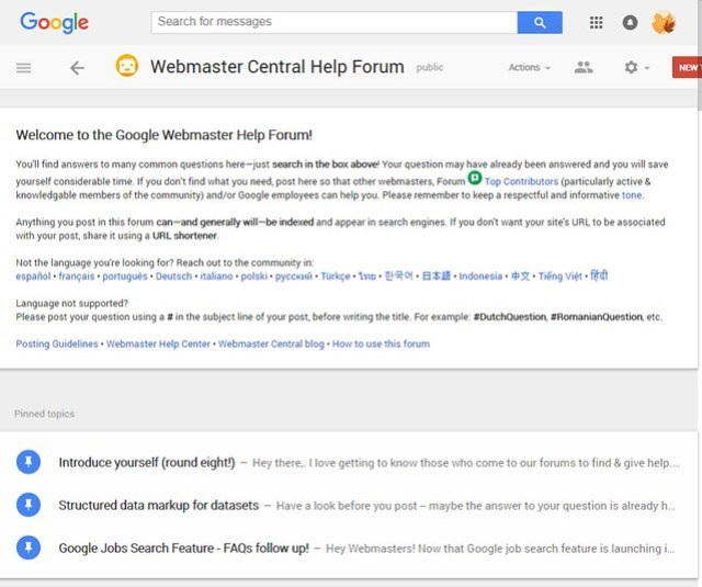 Google Forum SEO