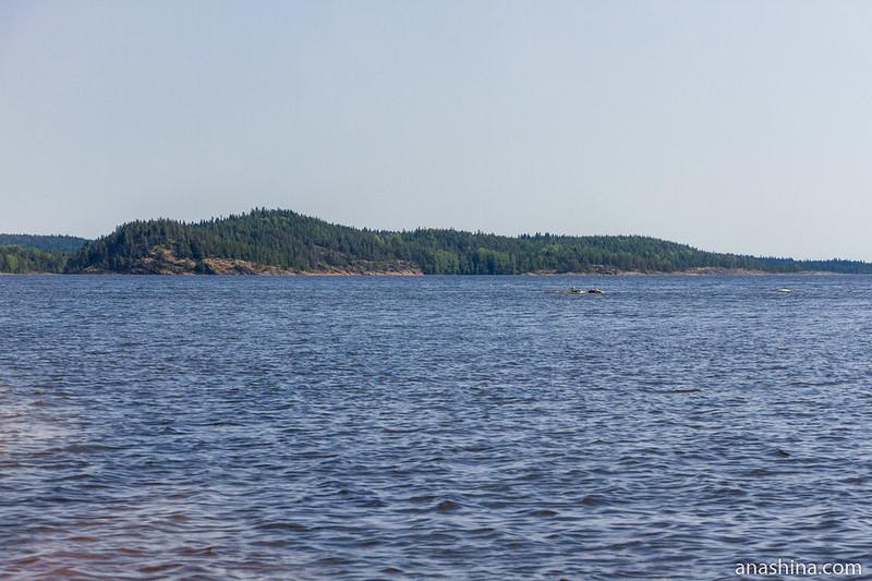 Скалистые острова, Ладожское озеро