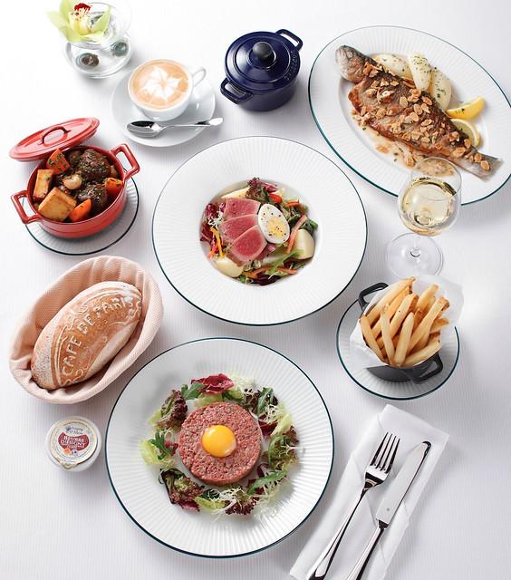 Cafe de Paris Monte-Carlo A La Carte Dishes