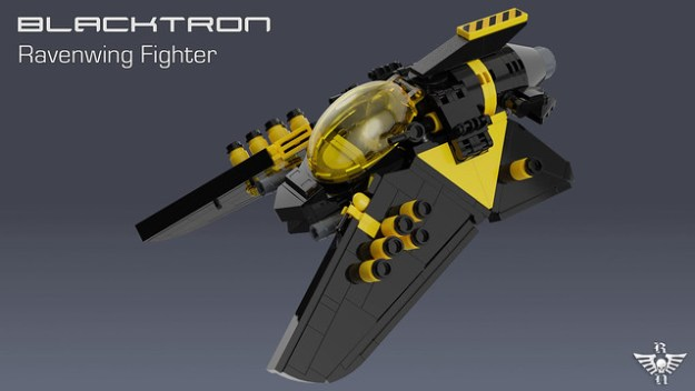 Blacktron Ravenwing Fighter