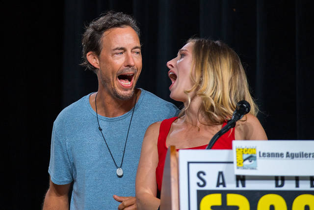 Tom Cavanagh and Leanne Aguilera