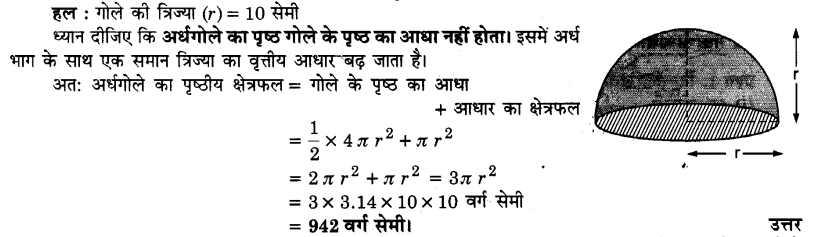 UP Board Solutions for Class 9 Maths Chapter 13 Surface Areas and Volumes 13.4 3