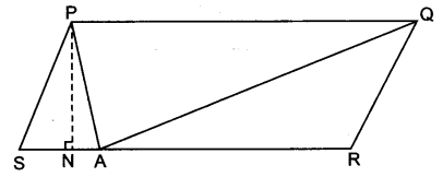 UP Board Solutions for Class 9 Maths Chapter 9 Area of Parallelograms and Triangles 9.2 6