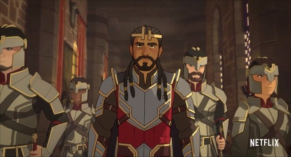 The Dragon Prince - Human King