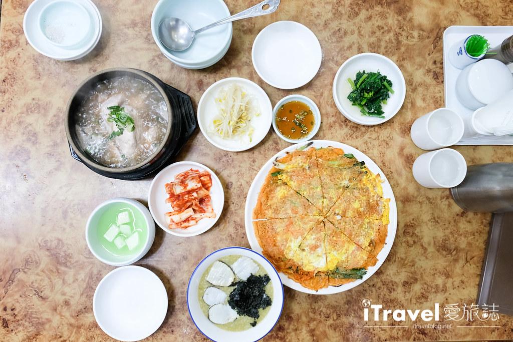 釜山地雷餐廳 五福蔘雞湯 (6)