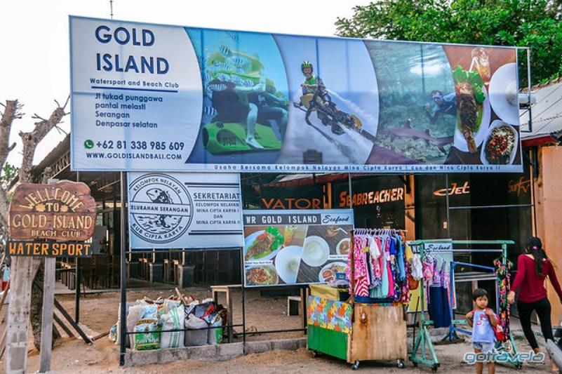 Water sport Gold Island Serangan Bali