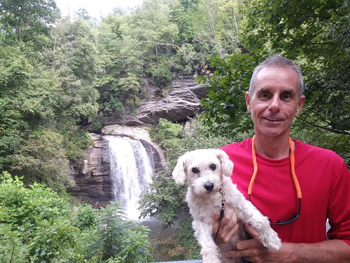 2018-8-25 French Broad with Meetup Group - Brevard NC and Looking Glass Falls