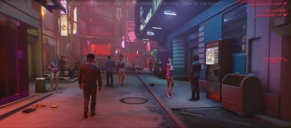 Cyberpunk 2077 - Alleyway