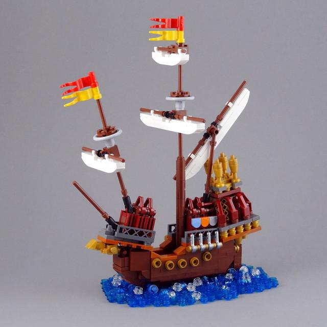 LEGO Bateau de Durmstrang
