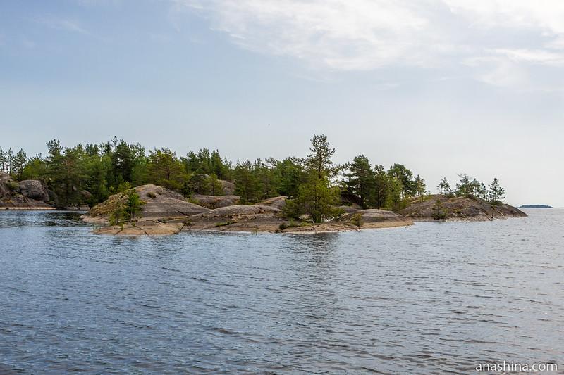 Каменистый островок, Ладожское озеро