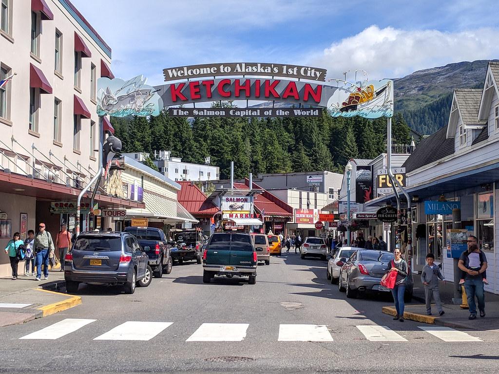 Welcome to Ketchikan, Alaska