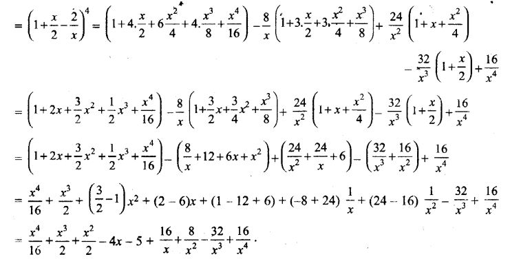 UP Board Solutions for Class 11 Maths Chapter 8 Binomial Theorem 9.1