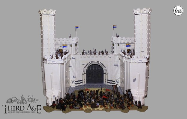 The Great Gate of Minas Tirith