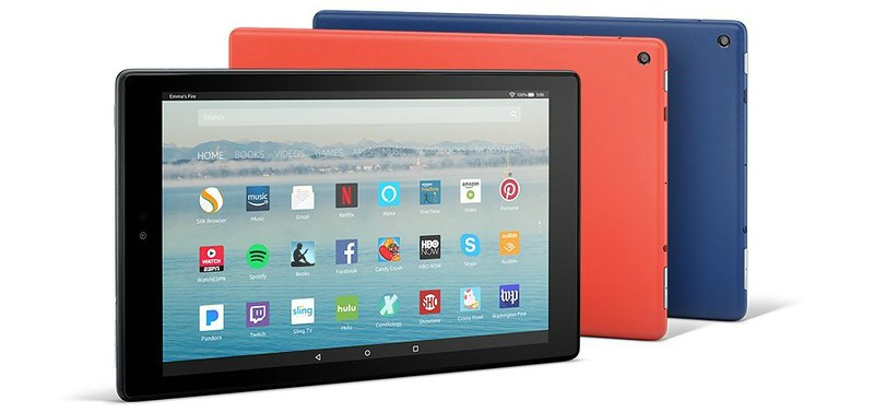 Fire HD 10 Tablet with Alexa Giveaway
