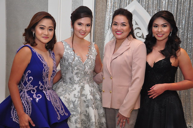Designer Zandra Lim and her Gown  Creations