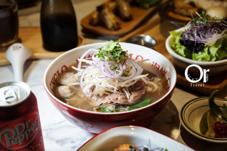 東區美食|終於找到記憶裡的美式越南河粉味道!黃金琥珀湯頭扭轉你對越南河粉的想像-CYCLO 洛城牛肉粉仁愛店、國父紀念館美食