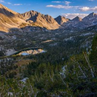 Hiking Rock Creek to Ruby Lake