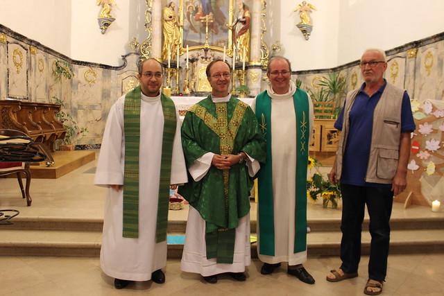 Messe de rentrée avec les mouvements à Saessolsheim