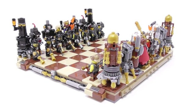 Steampunk Chess