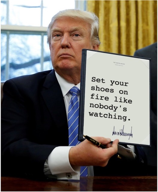 Trump_shoesonfire