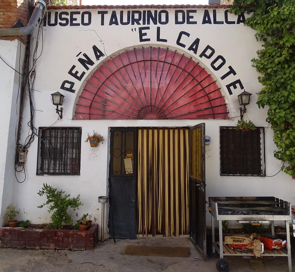 edifico fachada de entrada Museo Taurino Alcazar de San Juan Ciudad Real
