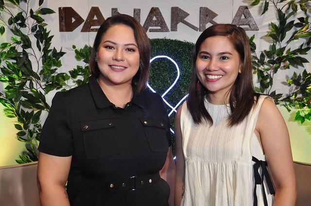 Karla Estrada and Danarra Brand Manager Sheena Labor